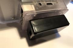 Standardgehäuse mit Anbau für ein 2-Kanal Relais.